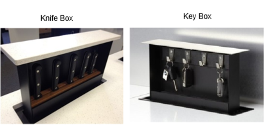 Knife and Key Boxes