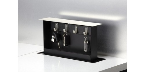 S BOX Key Box SB KH01SS Kitchen Countertop Pop Up Key Holder, Stainless Or  Custom Top   Pop Up Outlets
