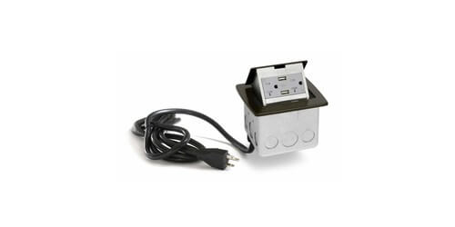 Lew Electric PUFP-CT-DB-20A-2USB-WC - Main View