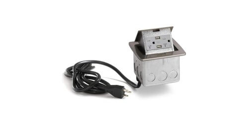Lew Electric PUFP-CT-NS-20A-2USB-WC - Main View