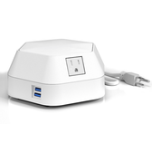ECA Runabout Table Surface Charging Station White