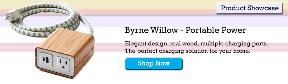 Bryne Willow Portable Power Charger